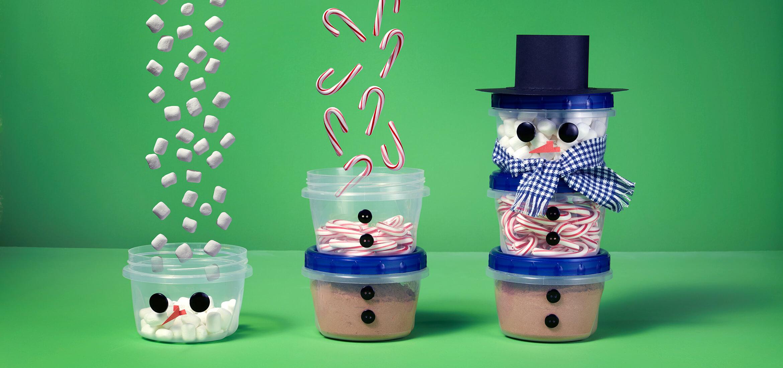 Ziploc 174 Diy Hot Cocoa Snowman Gift Kit Sc Johnson