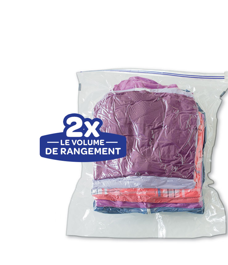 Ziploc® | Sac De Voyage Space Bag® | Marque Ziploc® | Sc Johnson